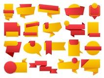 Insieme della vendita e migliori distintivi ed etichette Choice Immagine Stock Libera da Diritti