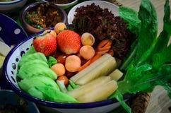 Insieme della verdura Fotografia Stock Libera da Diritti