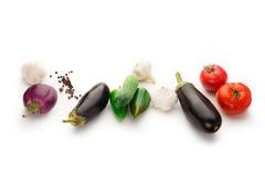 Insieme della verdura Fotografia Stock