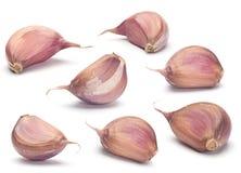 Insieme della verdura dell'aglio Fotografie Stock Libere da Diritti
