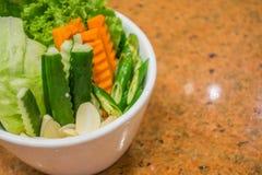 Insieme della verdura fresca Immagine Stock