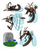 Insieme della zanzara royalty illustrazione gratis