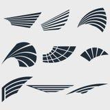 Insieme delle ali Immagine Stock