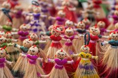 Insieme delle bambole Fotografia Stock Libera da Diritti