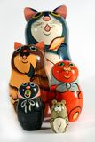 Insieme delle bambole di incastramento Immagine Stock Libera da Diritti