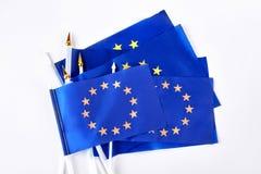 Insieme delle bandiere del cocktail di Europa Fotografie Stock Libere da Diritti
