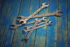 Insieme delle chiavi Fotografie Stock Libere da Diritti