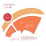 Insieme delle disposizioni infographic del modello Diagramma di flusso Immagine Stock Libera da Diritti