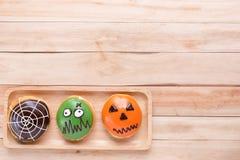 Insieme delle guarnizioni di gomma piuma di Halloween Immagine Stock Libera da Diritti