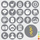 Insieme delle icone Fotografie Stock Libere da Diritti