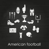 Insieme delle icone di sport Fotografia Stock