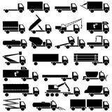 Insieme delle icone di trasporto Immagini Stock