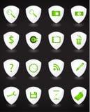Insieme delle icone di Web Fotografie Stock Libere da Diritti