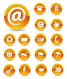 Insieme delle icone di Web Fotografia Stock Libera da Diritti