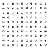 Insieme delle icone di web grande illustrazione vettoriale