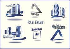 Insieme delle icone Real Estate di vettore Fotografia Stock Libera da Diritti