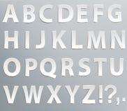 Insieme delle lettere Immagini Stock Libere da Diritti