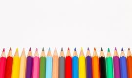 Insieme delle matite colorate 5 Fotografia Stock Libera da Diritti