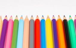 Insieme delle matite colorate 6 Fotografia Stock