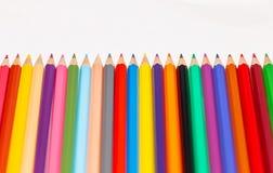 Insieme delle matite colorate 2 Fotografia Stock Libera da Diritti