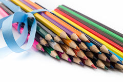 Insieme delle matite colorate Fotografia Stock Libera da Diritti