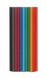 Insieme delle matite di colore Immagine Stock
