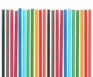 Insieme delle matite di colore Fotografia Stock