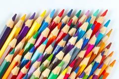 Insieme delle matite di colore per creatività Fotografia Stock