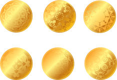 Medaglia di oro Immagine Stock Libera da Diritti
