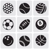 Insieme delle palle di sport Immagini Stock Libere da Diritti