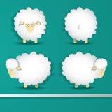 Insieme delle pecore illustrazione di stock
