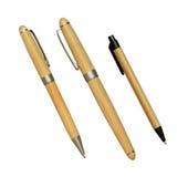 Insieme delle penne Immagini Stock