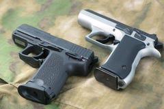 Insieme delle pistole Fotografia Stock Libera da Diritti