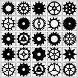 Insieme delle ruote di ingranaggio per desing. Royalty Illustrazione gratis