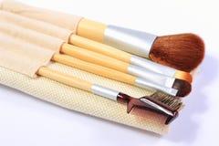 Insieme delle spazzole per trucco Immagine Stock Libera da Diritti