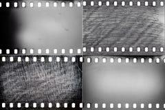 Insieme delle strutture del film Fotografie Stock