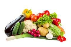 Insieme delle verdure Fotografia Stock Libera da Diritti