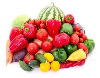 Insieme delle verdure differenti Fotografie Stock Libere da Diritti