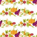 Insieme delle verdure Tavola sana dell'alimento Fotografia Stock Libera da Diritti