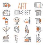 Insieme descritto dell'icona di arte sul grafico del fondo bianco e sulla siluetta isolati moderni di progettazione di simbolo di royalty illustrazione gratis