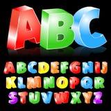 Insieme di ABC di vettore illustrazione vettoriale