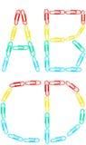 Insieme di alfabeto Immagini Stock Libere da Diritti