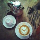 Insieme di caffè Fotografie Stock