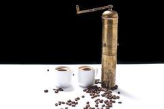 Insieme di caffè turco Immagine Stock