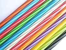Insieme di colore della matita fotografia stock
