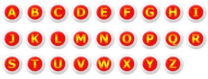 Insieme di consonante Fotografia Stock