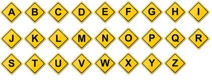 Insieme di consonante Immagini Stock