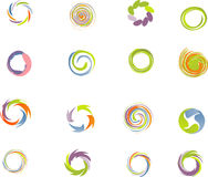 Insieme di elementi di disegno. Immagine Stock Libera da Diritti