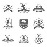 Insieme di etichetta di caccia royalty illustrazione gratis