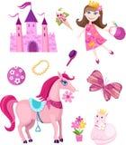 Insieme di Fairy-tale illustrazione vettoriale
